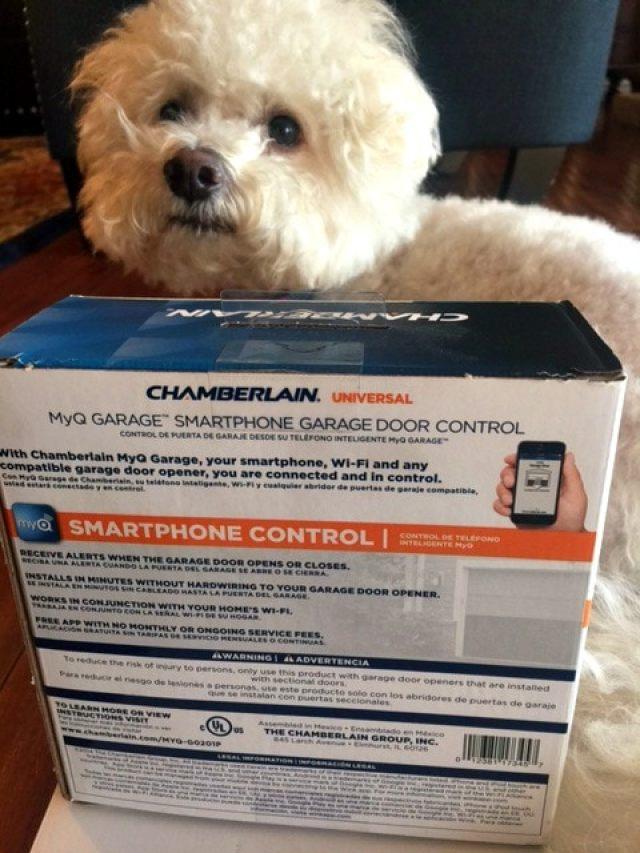 Chamberlain smartphone garage door opener