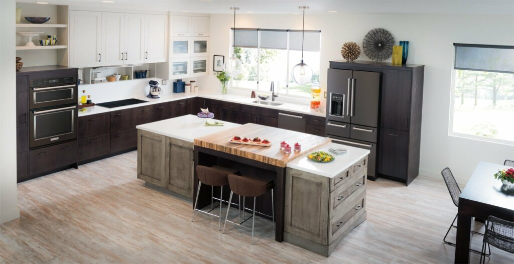 Are you looking to update your kitchen for the holidays? Consider the brand new black stainless steel appliances from KitchenAid found at Best Buy.