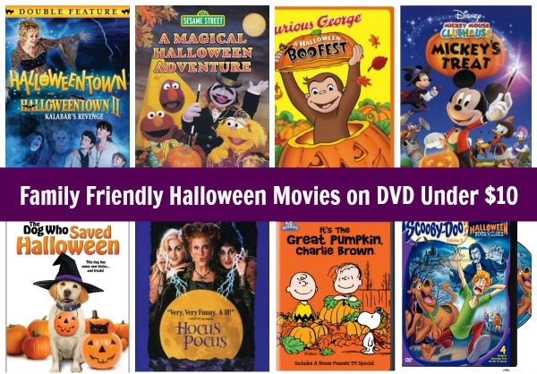 Are you looking for family-friendly Halloween movies without the gore and violence? We put together our favorites all for under $10.