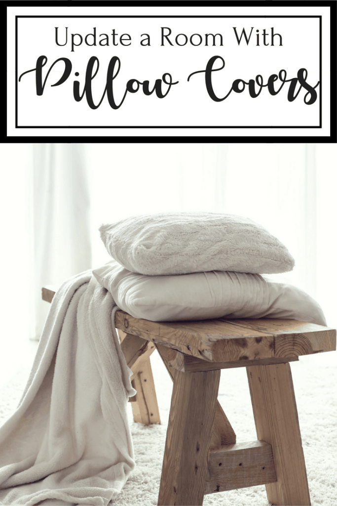 Are you looking for an inexpensive way to update a room? We found pillow covers for under $10. Amazon and Walmart have great choices but don't delay.