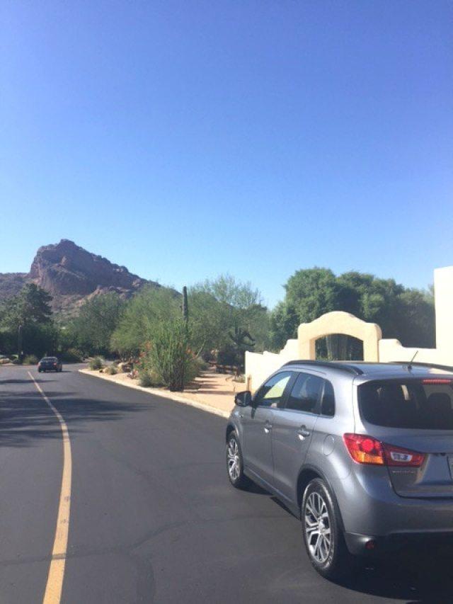 2016 Mitsubishi Outlander Sport 2.4 GT 2WD Phoenix road trip