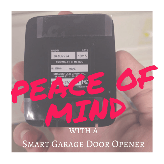 Thinking about installing a smartphone garage door opener? I did and I love the peace of mind it offers. You can open the door and receive notifications.