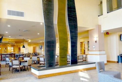Embassy Suites Phoenix-Scottsdale lobby fountain