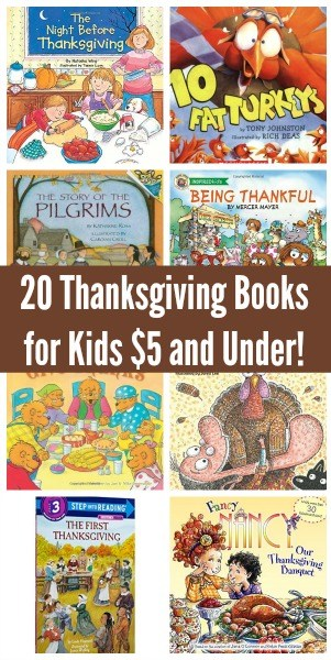 Are you looking for inexpensive books for kids about Thanksgiving? We found 20 to choose from that will ship fast if you have Amazon Prime.
