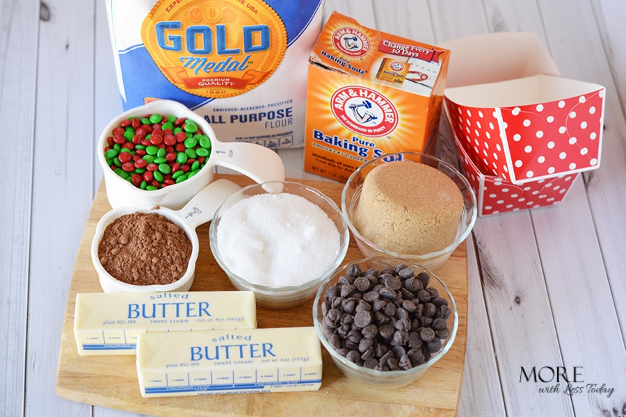 Gold Medal Flour and Arm and Hammer ingredients found at Walmart for holiday baking