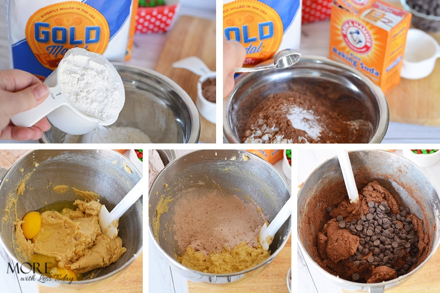 recipe for Double Chocolate cookie bars with Gold Medal Flour and Arm & Hammer Baking Soda