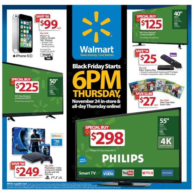 Are you planning to shop Walmart's Black Friday deals for 2016? The information was just released and we have the details here.