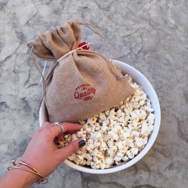 Popcorn themed gifts from Thoughtfully