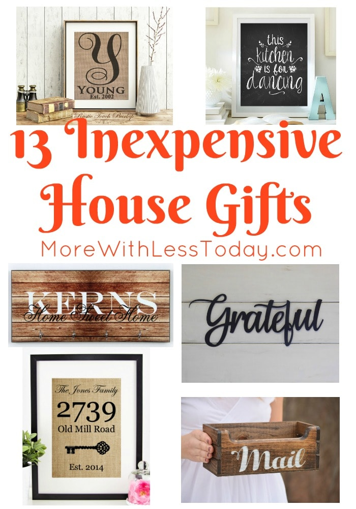 If you are looking for an inexpensive Etsy gift for a new homeowner or a new couple, we found 13 Inexpensive Etsy Gifts for the Home that are sure to please.