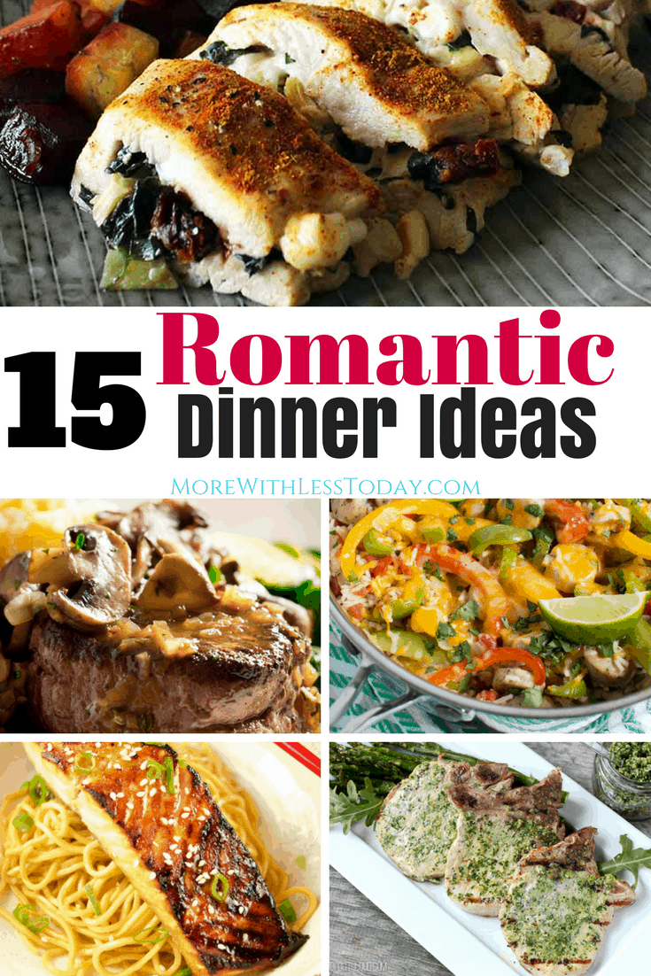 Delicious romantic dinner recipes to cook for your loved ones for Romantic meals