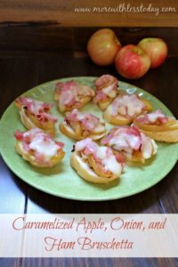 caramelized-apple-onion-ham-bruschetta recipe