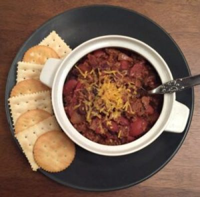 Chili with Canned Beans recipe made in an Insta Pot