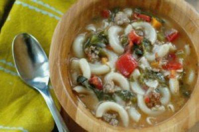 Italian Sausage Stew made in Insta Pot