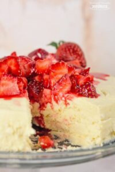 Sugar free Crustless Cheesecake recipe Instant Pot