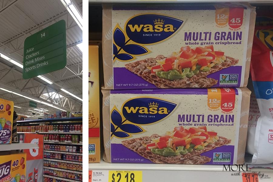 WASA Crispbread Pizza Appetizers from Walmart