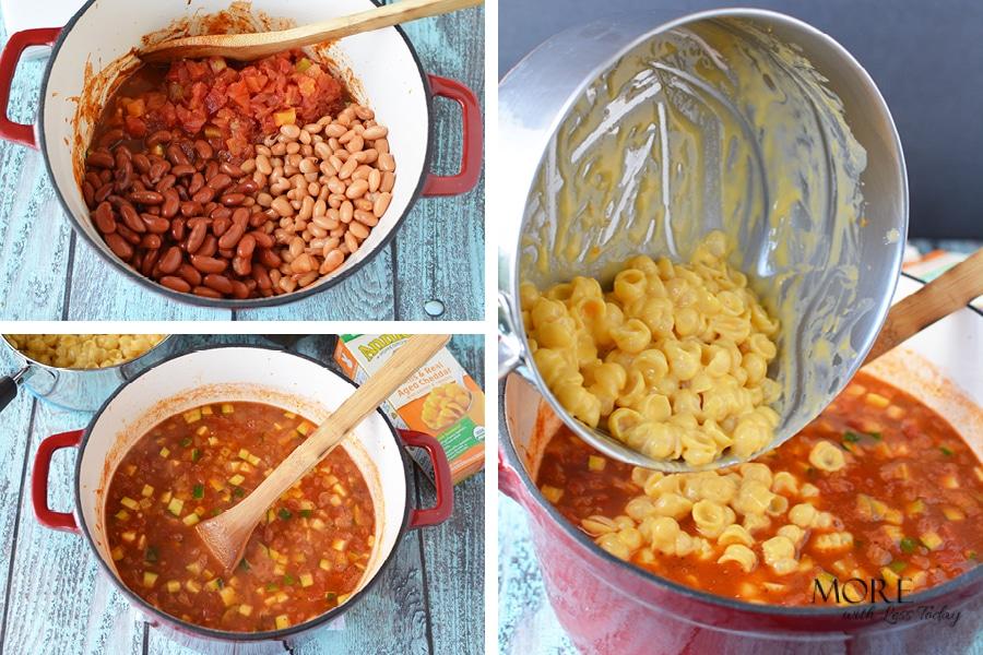 Vegetarian Macaroni and Cheese Chili Recipe