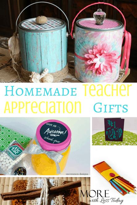 Homemade Teacher Appreciation Gifts – Creative Ways to Thank a Favorite Teacher