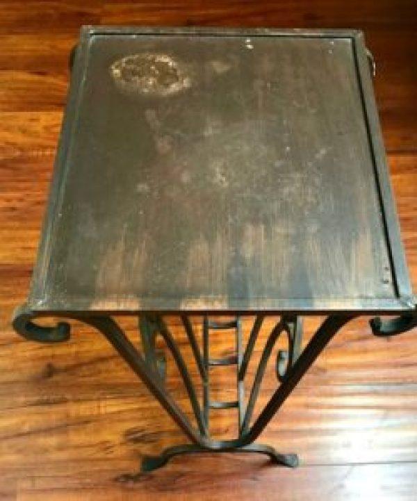 old table Lowe's paint