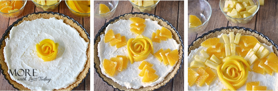 This foolproof tropical tart recipe requires no baking and is easy to make.