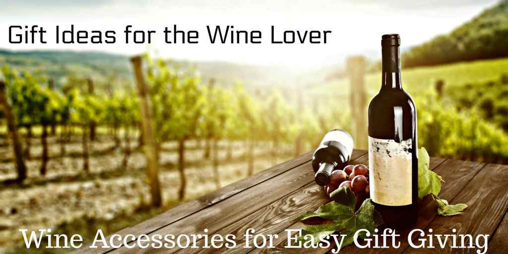 Gift Guide: Wine Gifts and Wine Accessories for Easy Gift Giving. Do you have a wine lover on your gift list? Wine accessories make great gifts.