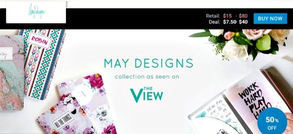 May Designs seen on View Your Deal