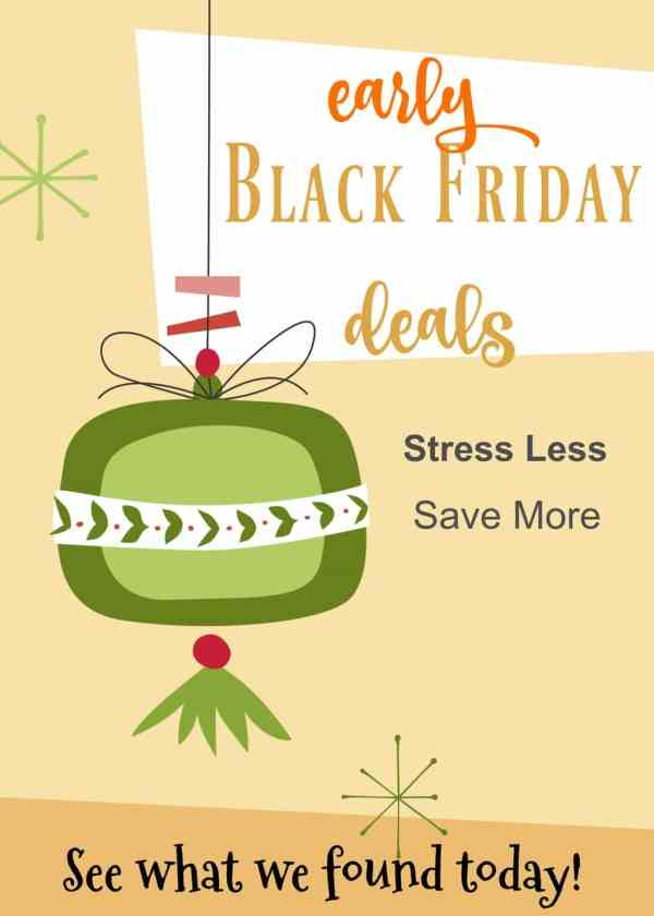 If you want to start shopping for the holidays and still save money, check out these early Black Friday deals for 2017 - score early and stress less!