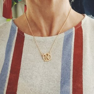 Nissa Initial Necklace Today Show Deal