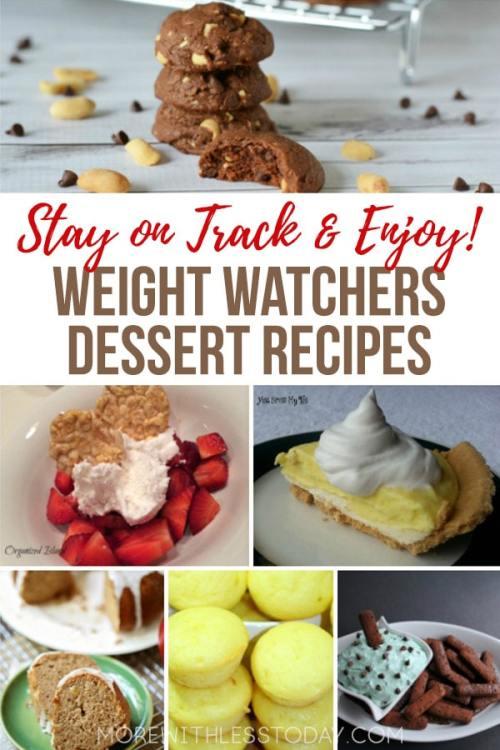 Weight Watchers Friendly Dessert Recipes Everyone Can Enjoy
