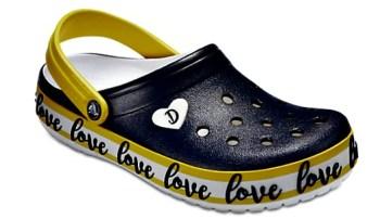 crocs designed by Drew Barrymore