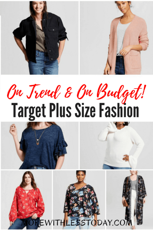 Target Plus Size Fashion – On Trend and On Budget!