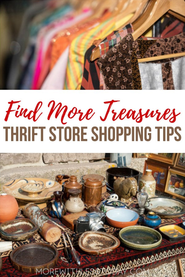 If you love to score new or nearly new items on a budget, check out these 10 tips for thrift store shoppers. You might be surprised to see what you can get!