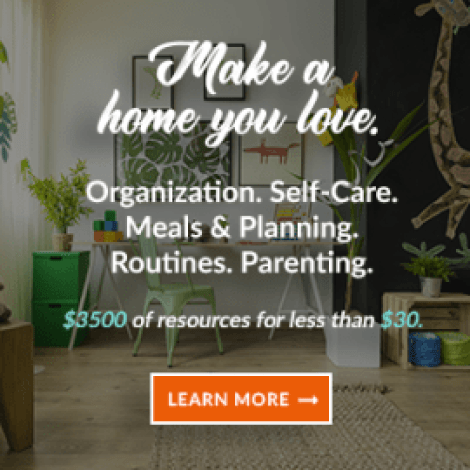 Manage Your Home with 129 Resources from Experts- Bundled for $29.97. It includes products like eBooks, online courses, printables and planners, audio files, membership sites and more, crammed into one unbelievable collection, for a ridiculously low price from Ultimate Bundles.