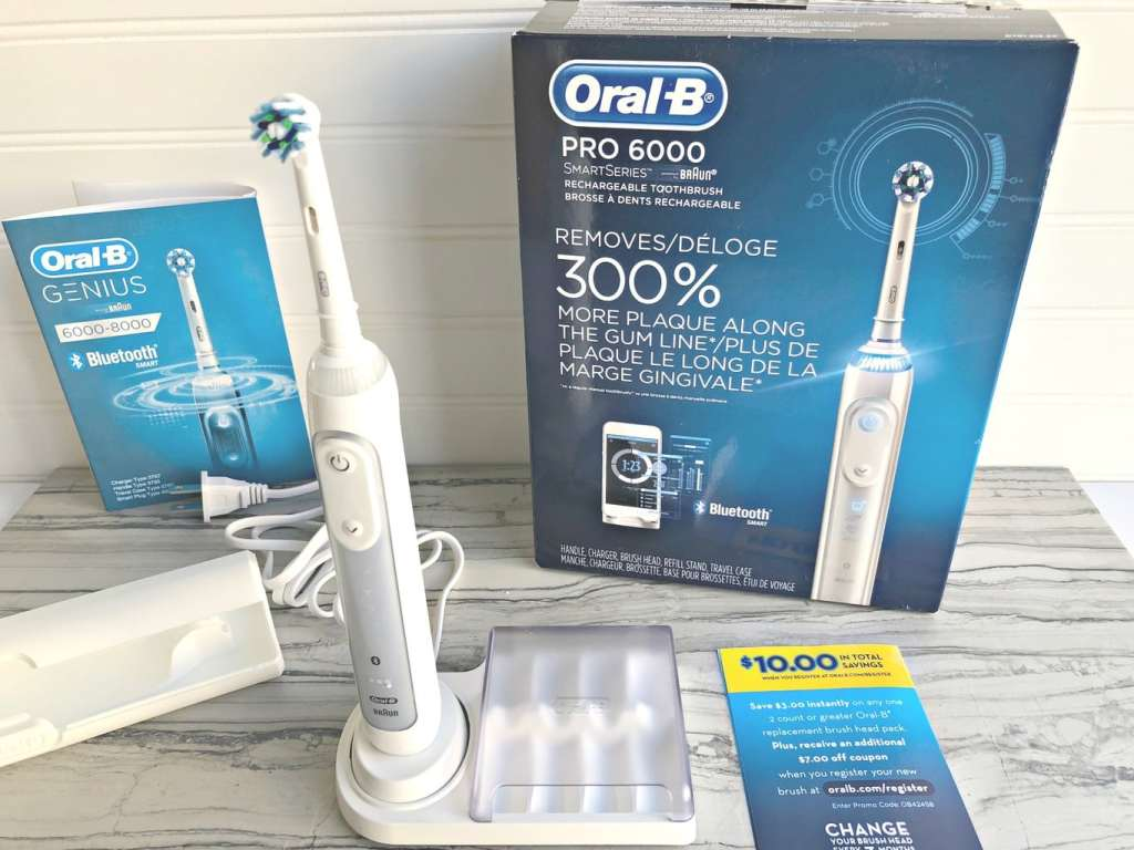 Oral-B rechargeable toothbrush - favorite things