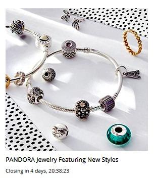 Pandora sale at Ruelala