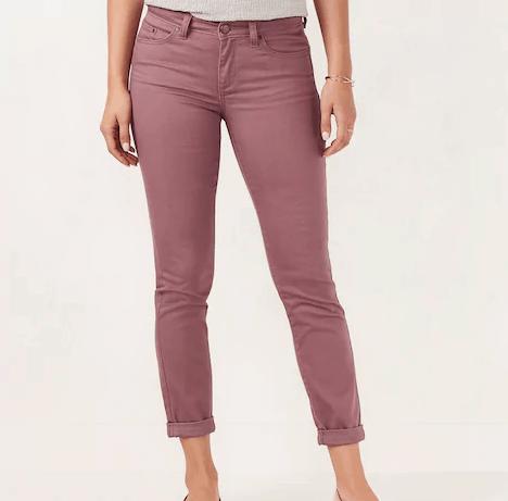 Women's LC Lauren Conrad Love, Lauren Cuffed Ankle Skinny Jeans Kohl's
