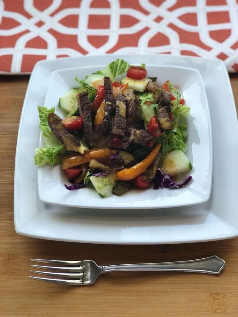 how to make a Fajita salad