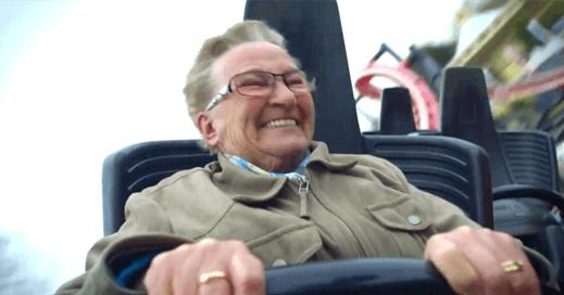 grandma roller coaster