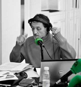 El locutor de radio Eduardo Yañez
