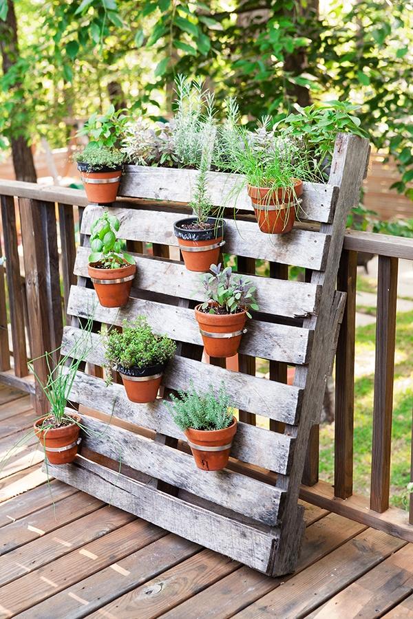 Good Pallet Planter Part - 6: 67 DIY Pallet Planter Ideas For Rustic Garden