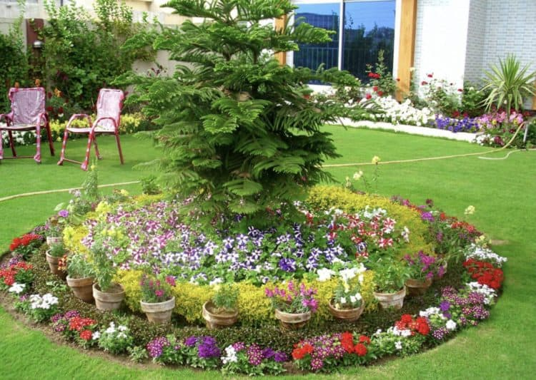 18 Flower Bed Ideas to Try for Small Budget - MORFLORA on Flower Bed Ideas Backyard id=54302
