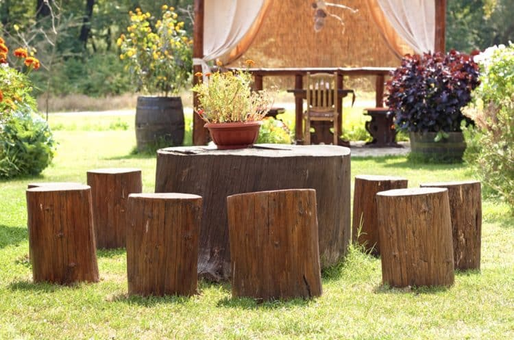 Tree Stump Ideas Part - 43: Diy Tree Stump Table Ideas