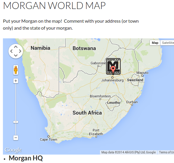 Morgan World Map