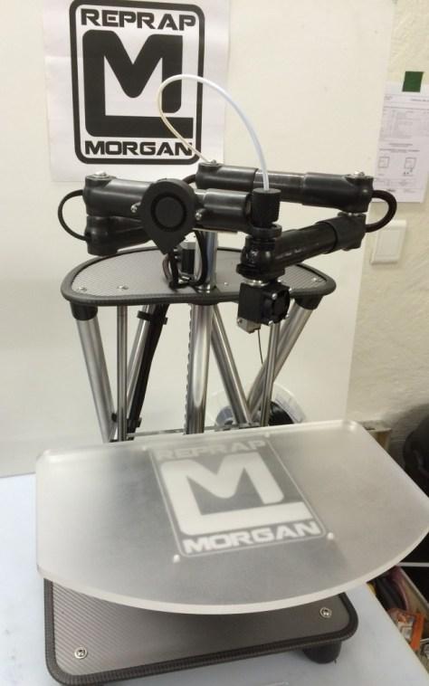 Morgan 2 3d printers