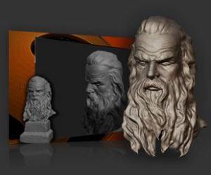 3d printing Sculpture made with Sculptris