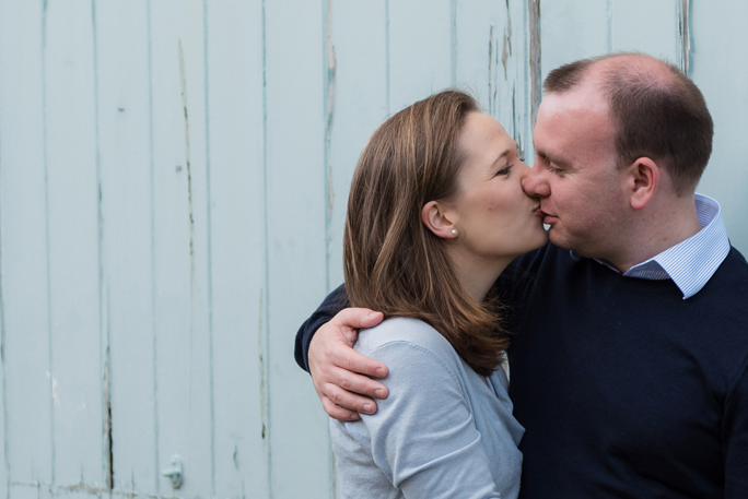 Cathie + Dave engaged