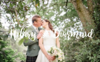 // Hilary + Diarmuid married at the Edinburgh Principal George Street Hotel