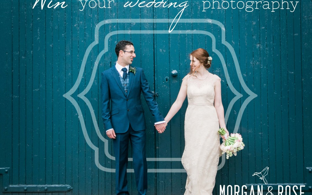 Win your wedding photography in 2017 (or 2018!)