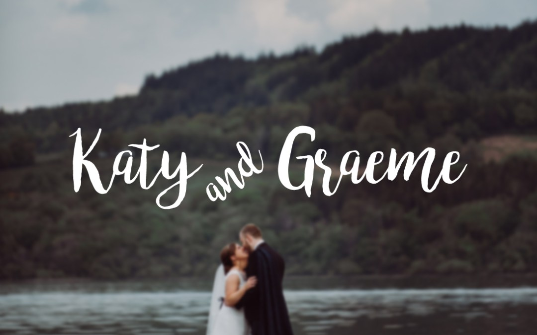 // Katy + Graeme married at The Cruin