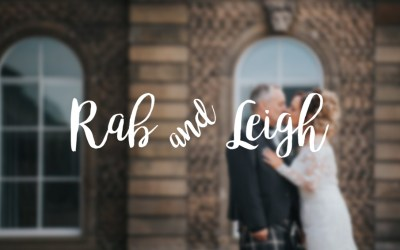 // Rab + Leigh Married at Eskmills
