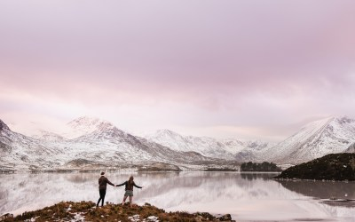 // Rebecca + Jacob: Glen Coe Engagement